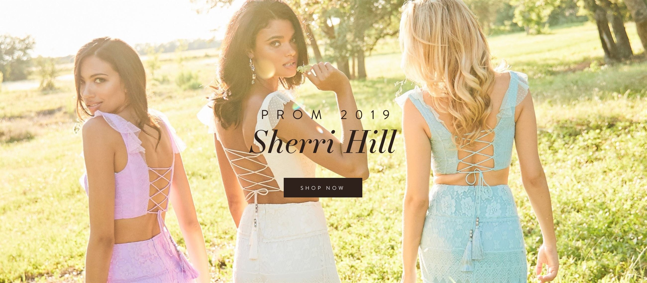 lace boho prom dresses from sherri hill spring 2019 something new boutique colorado springs